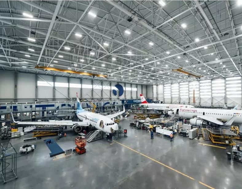 Lidmašīnu remonta terminālis