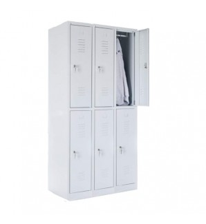 Six-person locker 1800x900x490