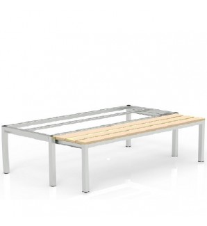 Pull-out bench 410x1200x755