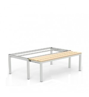 Pull-out bench 410x600x755